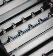 barbecue a gas barre di fudione in acciaio inox