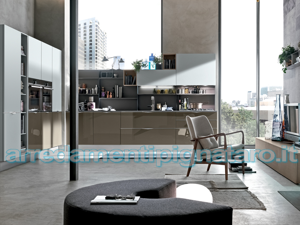 Cucine Moderne Italiane ~ Idee per Interni e Mobili