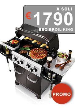 Barbecue a gas della famosissima azienda americana canadese Broil King