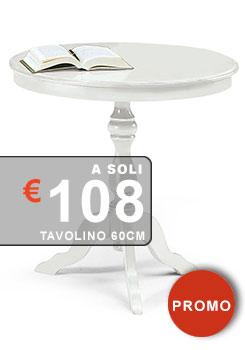 tavolino salotto alto da 60 cm