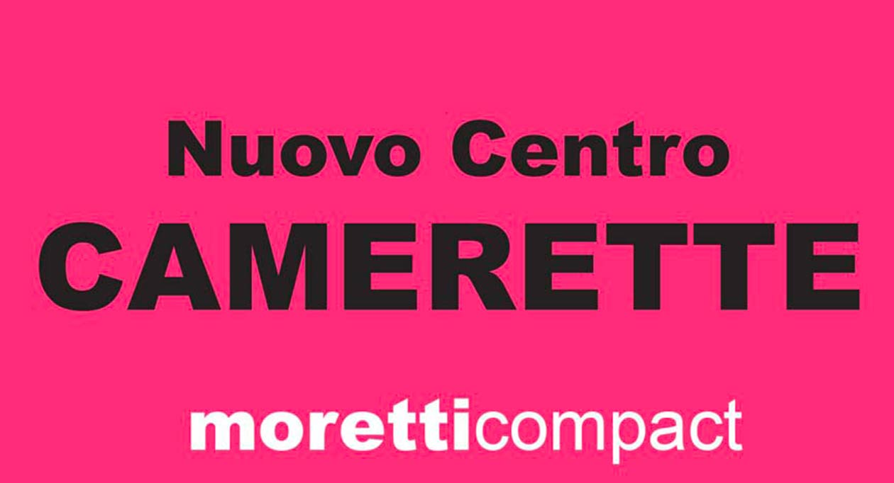 Nuovo centro camerette moretticompact Aurelia