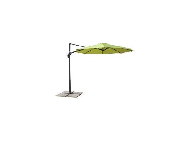 ombrellone giardino a braccio verde