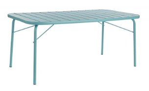 tavolo giardino azzurro