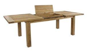tavolo in legno massiccio esterno