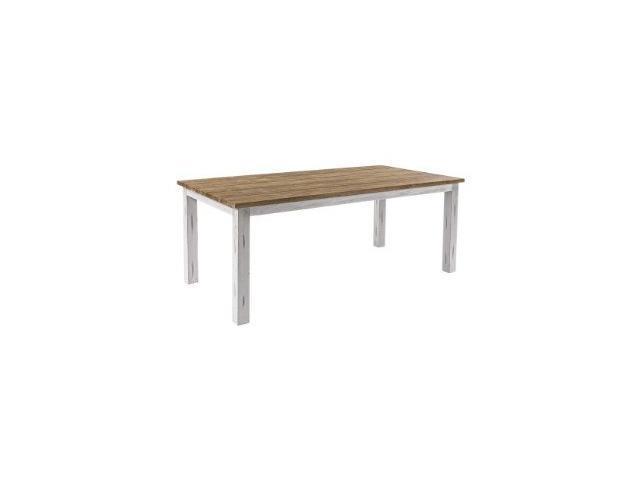 tavolo bicolore da giardino