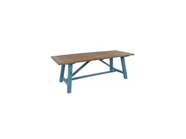 tavolo shabby da giardino