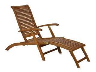 sdraio in legno per relax