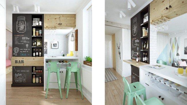 arredare-appartamento-angolo-bar