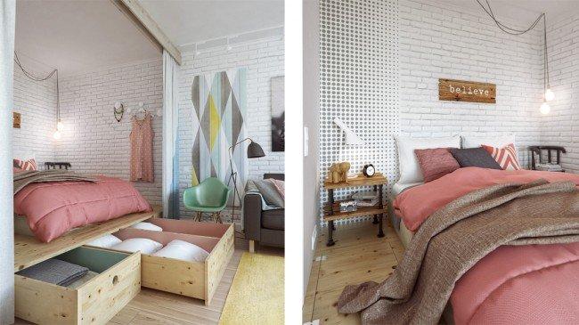 arredare-appartamento-letto