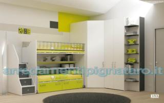 Camere Per Ragazzi Moretti : Camerette moretti compact spar colombini arredamenti pignataro