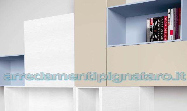 parete attrezzata moderna spar