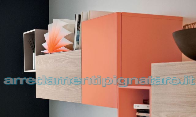 mobili living in legno