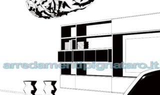 pareti attrezzate soggiorno economiche