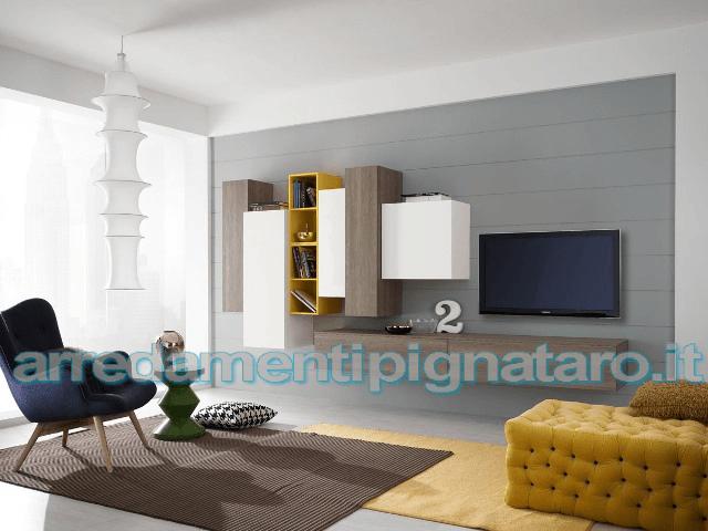 soggiorno arredamento moderno