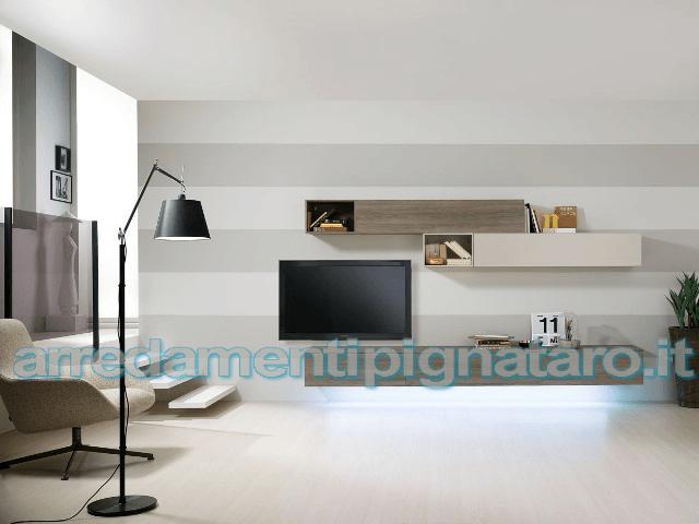 parete moderna soggiorno