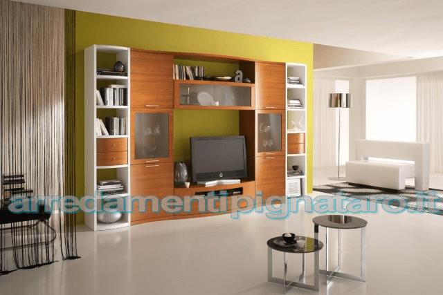 arredamento soggiorno moderno spar