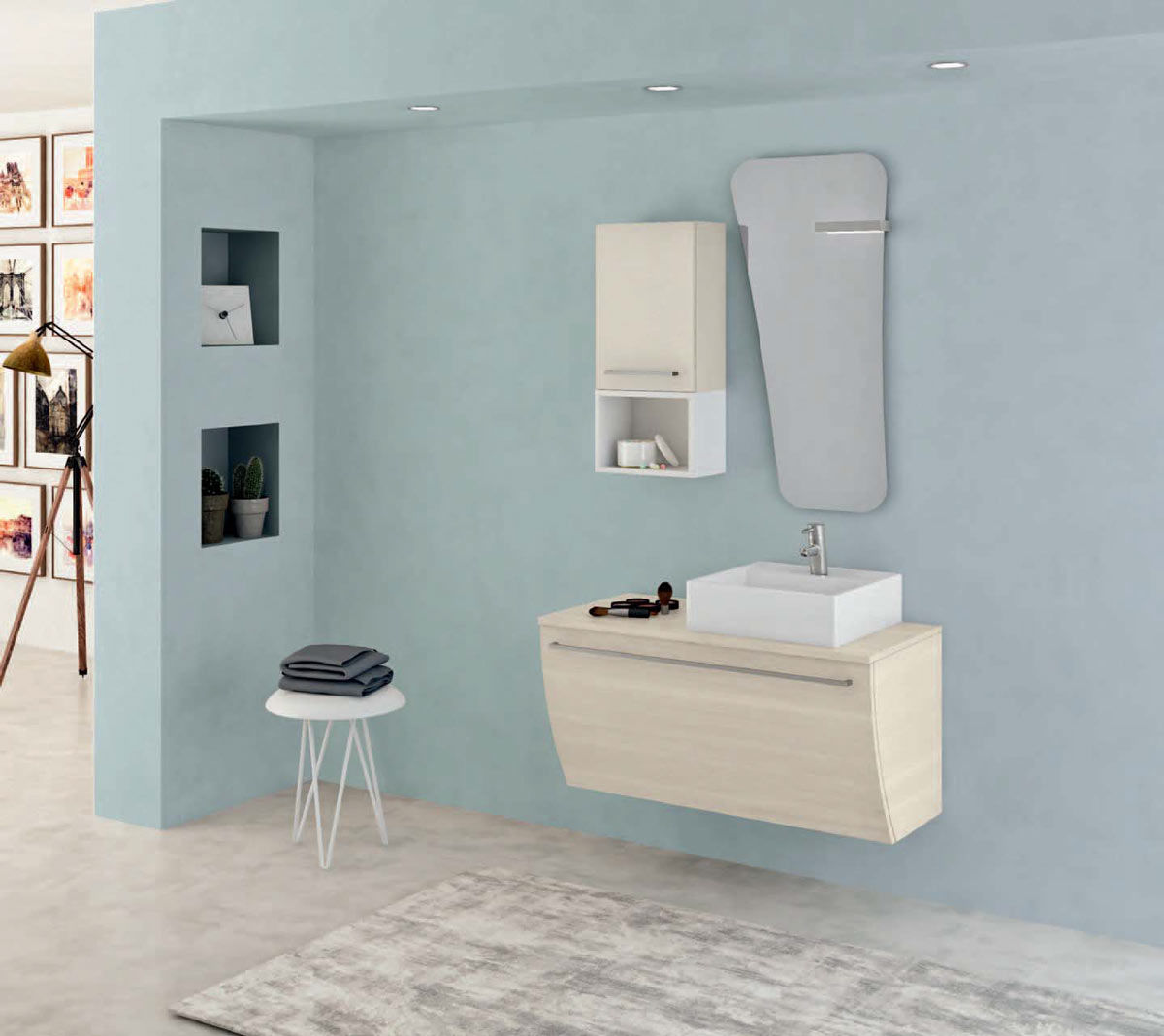 Emejing arredo bagno moderno offerte pictures for Offerte arredo bagno