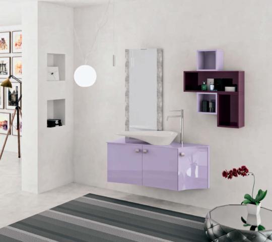 mobili bagno sospesi moderni