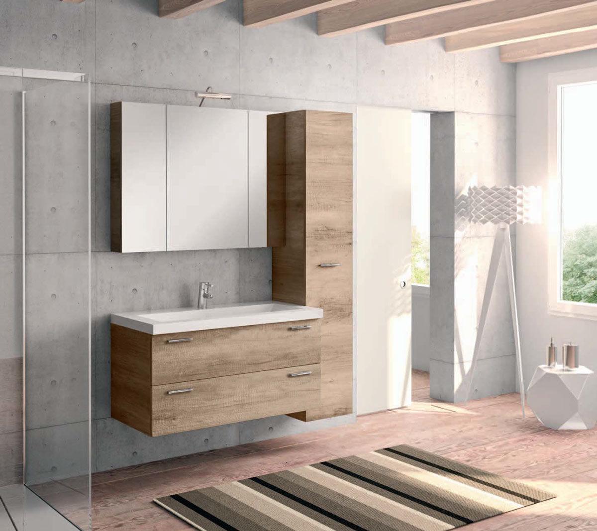 mobili bagno moderni non sospesi