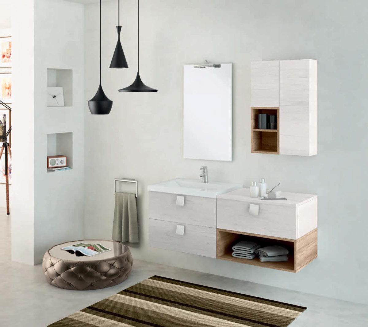 Bagno in muratura moderno perfect immagine bagno moderno con mosaico nero piccola vasca in - Bagno in muratura moderno ...