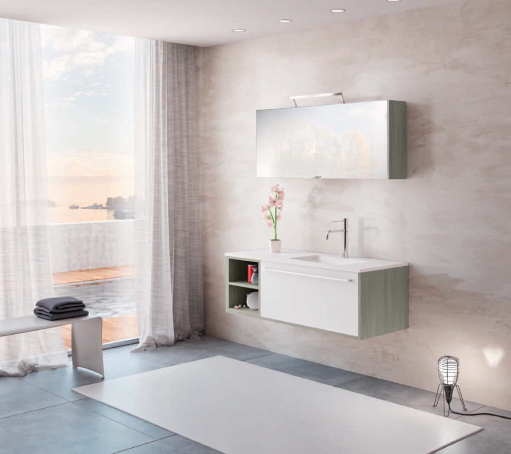 Arredo bagno in offerta online - Mobile bagno classico bianco ...