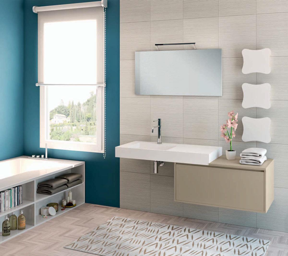 bagni piccoli moderni con vasca