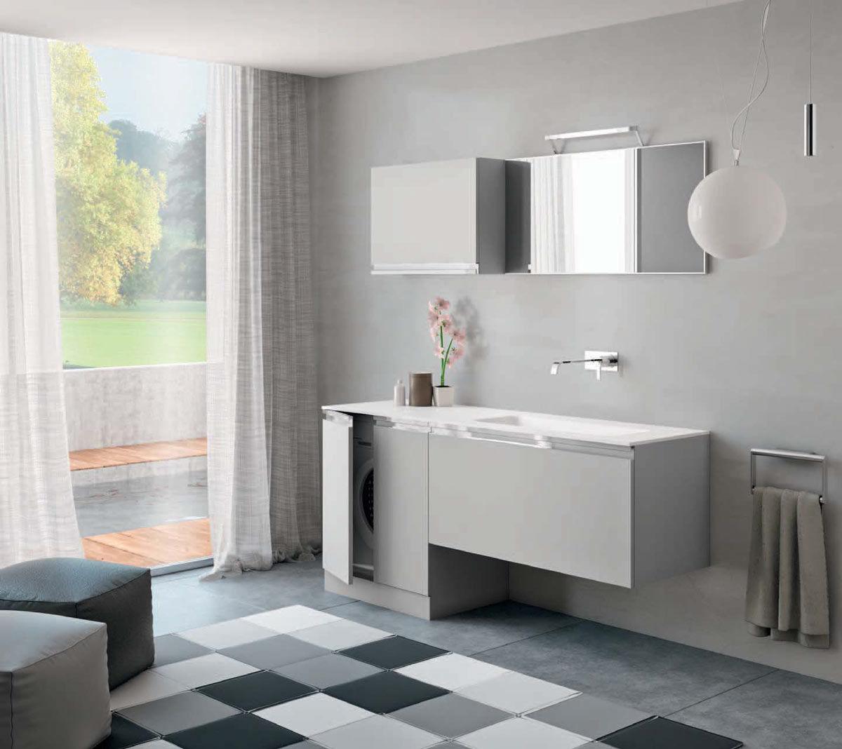 bagni moderni piccoli con doccia