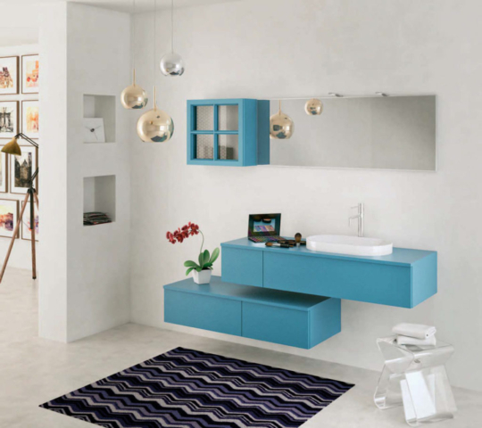 bagni moderni con doccia grande