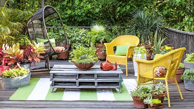 mobili da giardino roma