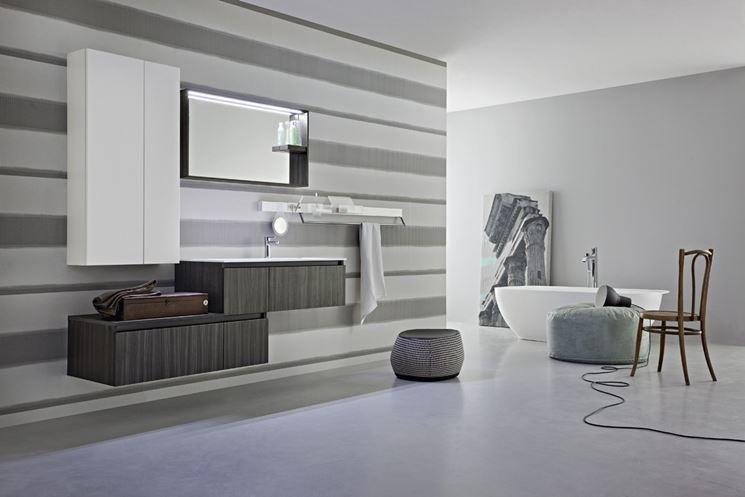 mobili bagno antichizzati