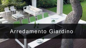 arredamento giardino moderno