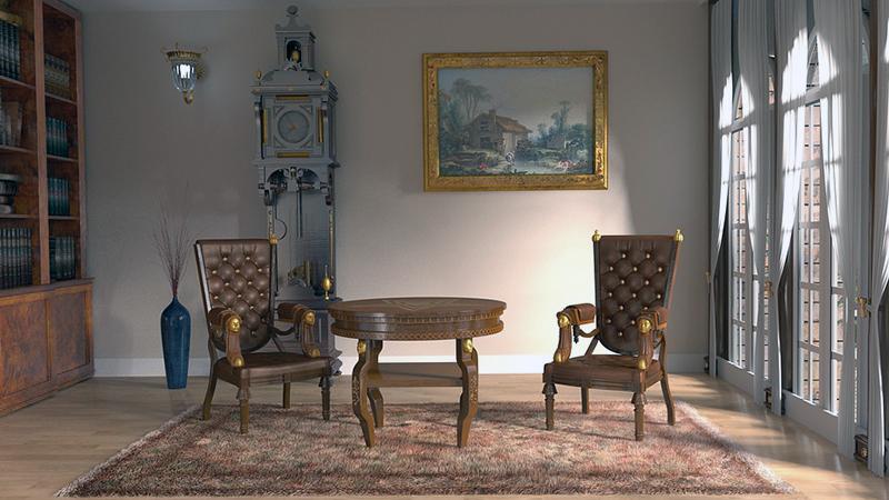 salotto stile classico
