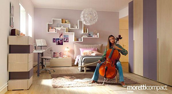 Camere per ragazze - MorettiCompact YC306