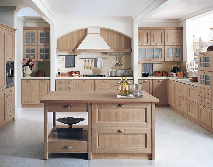 cucina classica murata
