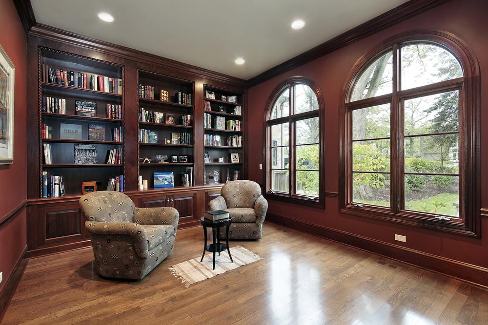 libreria da soggiorno