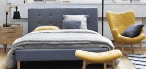 poltrona in camera da letto